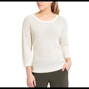Athleta   Waffle Knit Sweater